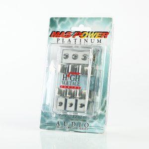 3 4-gauge in 3 8-gauge out agu fuse block platinum 3 power amp holder barag3