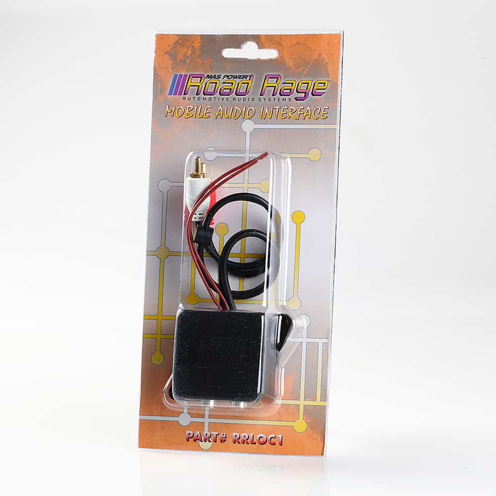 IN-LINE RCA ENGINE NOISE WHINE SUPPRESSOR FILTER NO HUM MOBILE AUDIO INTERFACE